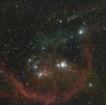 Orion Molecular Cloud (Minus Stars)